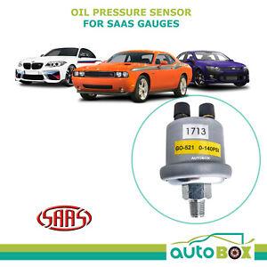 Oil Pressure Sensor suits SAAS Muscle Gauge 1/8 NPT 0-140 PSI Sender Replacement