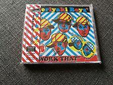 Teriyaki Boyz - Work That (Feat Pharrell,Chris Brown Japan w/Obi Cd & Dvd Sealed
