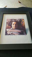 Herb Alpert Just You And Me Rare Original Promo Poster Ad Framed!
