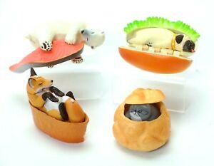 Weird Stuff Japanese Sleeping Cat Fox Bull Dog Polar Bear  Figure 1 Random Toy