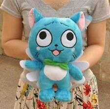 Brand New Fairy Tail Cosplay Happy Cat Stuffed Toy Plush Doll Kid Gift