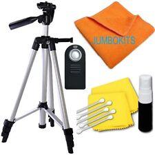 """LIGHTWEIGHT 57"""" PHOTO TRIPOD + REMOTE For NIKON D3000 D3100 D3200 D3300 D3"""