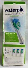Waterpik Sensonic New Standard Size 3 In Package Complete Toothbrush Refills