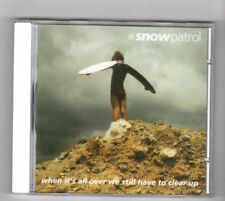 (HW315) Snow Patrol, When It's All Over We Still Have To Clear Up - 2001 CD