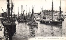 Margate. The Harbour from Pier # 30 by LL/Levy. Black & White.