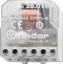 Finder Telerruptor Up 1S 10A 230VAC 26.01.8.230.0000