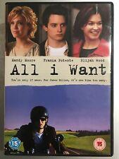 Elijah Wood Mandy Moore ALL I WANT 2002 Indie Romantic Comedy UK DVD