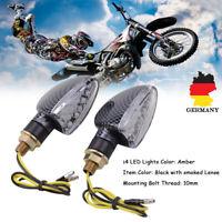2x Universal Motorrad 14LED Mini Blinker Microblinker Roller Quad ATV E-Geprüft
