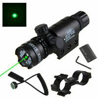 Green Dot Laser Sight Scope Remote Switch For 20mm Weaver Picatinny Rail Mount