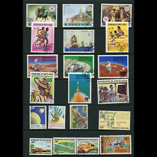 UPPER VOLTA 1976-81 Collection. 20 Values. Used. (WD889)