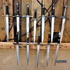 "13.5"" Medieval Kings Knights Historical Dagger Scabbard Short Sword Knife"
