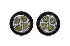 RUND Ø70-90mm TAGFAHRLICHT 4 x 2 SMD LED R87 für Alfa Romeo