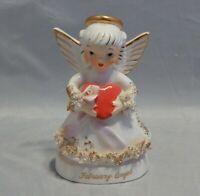 Napco Angel Girl Figurine February S1362