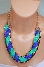 Markenlose Modeschmuck-Halsketten & -Anhänger im Collier-Stil aus Acryl