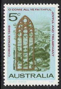 AUSTRALIA SG431 1968 CHRISTMAS MNH