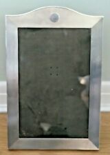 More details for bmc engine turned silver photo frame. blank cartouche