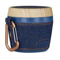 House of Marley Chant Mini Bluetooth Speaker- Portable Rechargeable -Denim Bliue
