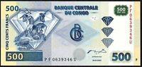 2002 CONGO 500 FRANCS BANKNOTE * PF 0639346 U * UNC *
