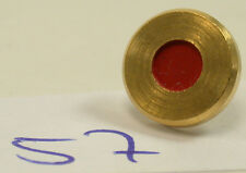 Original Leica Leitz Gold Knopf Knob Button Screw Red Rot Punkt Dot e57(5)