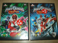 OPERA COMPLETA IN 2 BOX COFANETTI 9 DVD POWER RANGERS S.P.D. SPD I 38 EPISODI