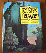 A TOLKIEN TREASURY - Stories, Poems, Illustrations Celebrating the Author  HBDJ