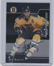 2001-02  BE A PLAYER SIGNATURE SERIES BILL GUERIN BAP AUTO SP BRUINS
