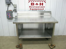 Spg 48 X 30 Stainless Steel Heavy Duty Work Table Kitchen Cabinet 4