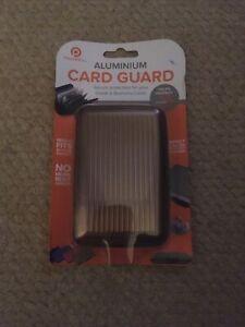 Aluminium Card Guard - Bronze - Brand New unopened