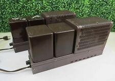 Pair of Vintage Fisher Model 80-AZ mono POWER AMPLIFIERS, Tube Amps