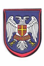 YUGOSLAVIA / SERBIA  - BALCAN WAR ERA - SERB ARMY OF KRAJINA PATCH - RUBBER TYPE