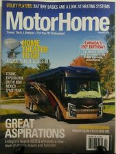 Motor Home February 2017 Home Theater To Go Great Aspirations RV FREE SHIPPING