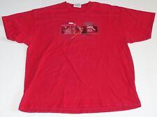 Dale Earnhardt Jr. Budweiser 8 Red Nascar Racing T-Shirt Graphic Logo Size - L