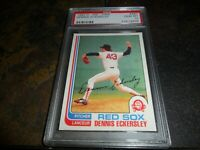 1982 O-PEE-CHEE OPC #287 DENNIS ECKERSLEY BOSTON RED SOX  HOF PSA 10 GEM MINT