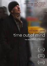 Time Out of Mind (DVD, 2015)(Richard Gere, Jena Malone)(Region1)