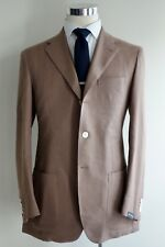NEW $2400 Sartorio Mohair Cotton Sport Jacket 40R/50R Hopsack by Kiton Ring