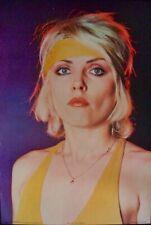 Blondie Deborah Harry 1979 Personality poster 24x36 Nm Vintage