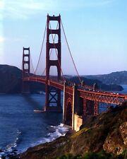 New 8x10 Photo: Golden Gate Suspension Bridge in San Francisco Bay, California