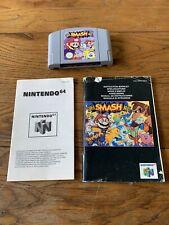 SUPER SMASH BROS - NINTENDO N64 GAME