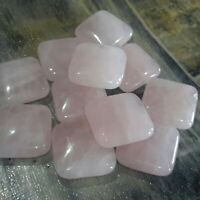 Natural Rhodochrosite  10mm Approx 39pcs Free postage Star Cut Facet Oz Selle