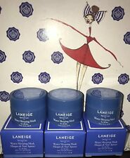3X LANEIGE Water Sleeping Mask 0.3oz Each  Lot NEW