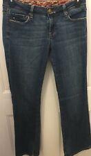 Women Juniors Vigoss Jeans Size 7 Boot Cut Milan Light distress Medium Wash