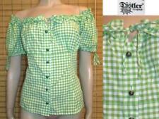 Kurzarm Distler Damen-Trachtenblusen aus Baumwolle