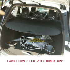 Black Cargo Cover Security Shield For 2017-2018 Honda CRV kit Accessories