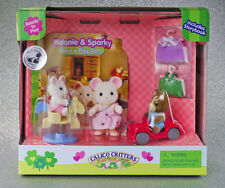 Sylvanian Families Calico Critters Melanie and Sparky Have a Play Date
