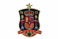 SPAIN 1913 With STAR Soccer World Cup Iron On PATCH CREST BADGE  2.4 X 3.4 Inch