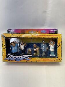 Lil Locsters 6 Piece Figurine Set Series 1 900 Homies Mini Shady Figures