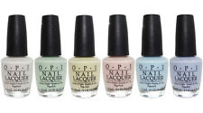 OPI Soft Shades Pastels Collection Spring 2016 Nail Lacquer Set of 6 Colors