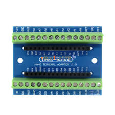 2PCS Terminal Adapter board for the Arduino Nano V3.0 AVR ATMEGA328P-AU Module