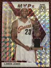 LEBRON JAMES 2019-20 Mosaic MVP Silver Wave Refractor SP #298 Cavs