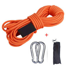 LIFEIYAN Climbing Rope Outdoor Wear Spider Man Aerial Rope Rescue Rope Air Conditioning Installation Downhill Cleaning Rope Color : 14mm, Size : 15m